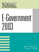 E-Government 2003